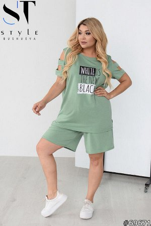 Костюм 69671 (футболка+шорты)
