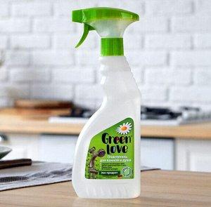 GREEN LOVE Спрей очиститель для ванной и душа 500 мл. NEW /12/ арт.17222 СКИДКА 20%