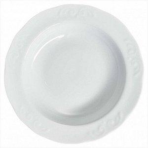 Тарелка 220 мм глубокая Надежда Белье 9С0686