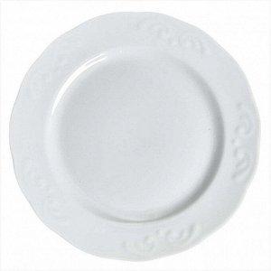 Тарелка 175 мм мелкая Надежда Белье 9С0693
