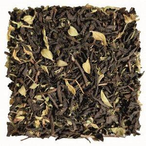 """Чёрный листовой чай """"Чёрный с чабрецом"""" 250 г"""