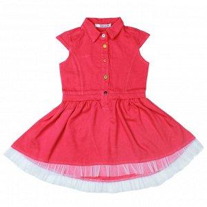 Платье для девочки малиновый