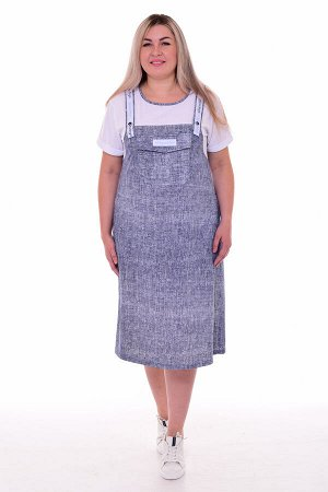 Платье женское 4-090а (джинс2)