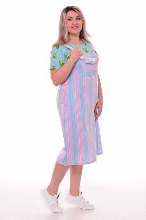 Платье женское 4-088а (ментол)