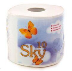 """""""SKY"""" Трехслойная туалетная бумага с ароматом ментола (в индивидуальной упаковке), 1 рулон"""