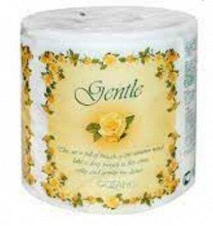 """""""Gentle"""" Трехслойная туалетная бумага с ароматом «Европы», в инд упак, 1 шт."""