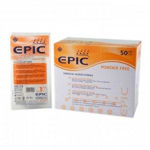 Перчатки хирургические стерильные неопудренные EPIC SG PF