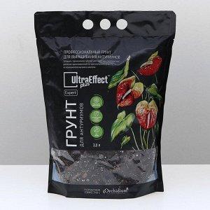 Грунт примиальный для выращивания антуриумов UltraEffect Plus Expert, 3 л