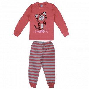 Пижама для девочки сливовый