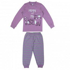 Пижама для девочки сиреневый