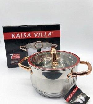 Кастрюля из нержавеющей стали KAISA VILLA d=18см
