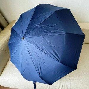 Зонт Мужской зонт в 3 сложения, полный автомат. Модель усиленной прочности, надёжная конструкция.  Каркас зонта выполнен из 10 алюминиевых усиленных спиц, за счет чего зонт имеет хорошую натяжку  купо