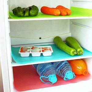 Антибактериальный коврик для холодильника, 4 шт