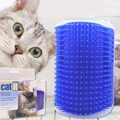 Дискаунтер Зоо Товаров — С Заботой и Ваших Питомцах — Массажная угловая щетка для кошек