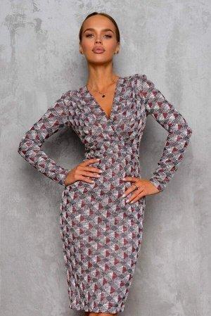Платье Платье с запахом на лифе – самый популярный вариант. Он подчеркивает грудь и делает акцент на бедрах. Приятные оттенки модели будут радовать Вас в течении всего дня. Кроме того, эта модель сбал