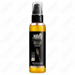 Сыворотка для волос на основе кератина Natural Formula Keratin Intense