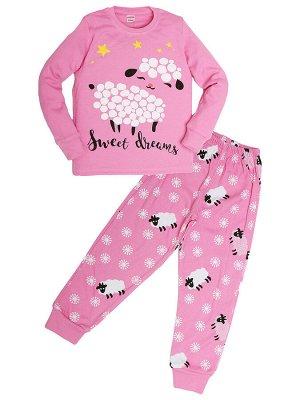 """Пижамы для девочек """"Sheep pink"""" (Розовый"""