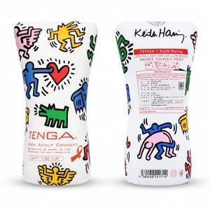 TENGA ✕ Keith Haring Soft Tube CUP