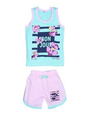 """Комплекты для девочек """"Bon Jour"""" (Зеленый"""