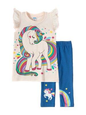 Костюмы для девочек Unicorn darck blue (Экрю, темно-синий