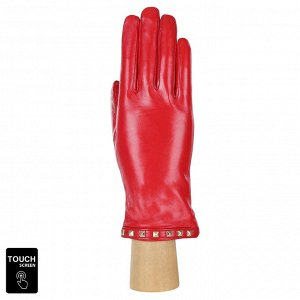 Перчатки, натуральная кожа, Fabretti S1.40-7 red
