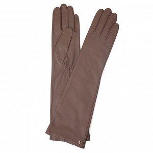 Перчатки, кожа, FABRETTI 12.5-22s dark beige
