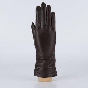 Перчатки, натуральная кожа, Fabretti 2.16-2 chocolat