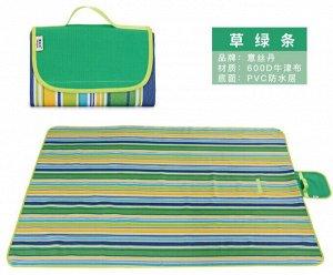 Коврик 145*200CM Коврик-трансформер обладает компактными размерами, поможет создать на пикнике уютную, домашнюю атмосферу. Такой коврик может служить и скатертью, и местом для сидения. Непромокаемая о