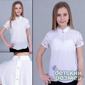 Блузка (шифон, брошь)         арт.52262