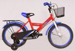 Велосипед детский 2-х колесный SAIL 14 д. HD-026  красный