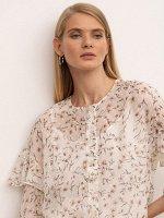 Блузка с цветочным принтом B2621/primavera
