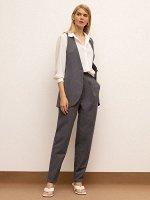 Зауженные брюки D205/nepelin