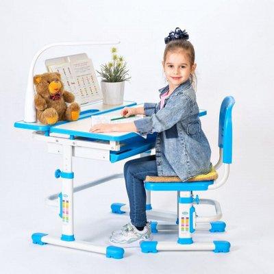 Скоро в школу! Парты-трансформеры, ортопедические кресла🧐 — Комплекты стол + стул Rifforma / Comfort