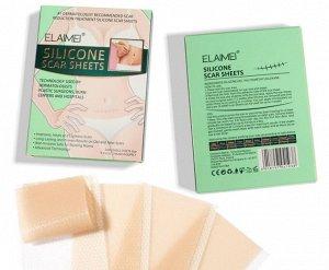 Силиконовый пластырь от шрамов ELAIMEI, упак 4 шт