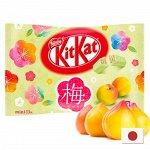 KitKat Ume plum 125g - Японский КитКат со вкусом сливочной сливы. 13шт