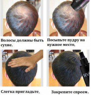 Пудра загуститель для объема волос ALIVER, 27 гр