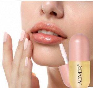 Блеск для увеличения объема губ с имбирным маслом ALIVER
