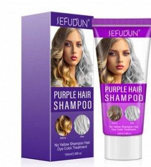 Шампунь для волос SEFUDUN Color Changing Shampoo Hair Mask, 100 мл