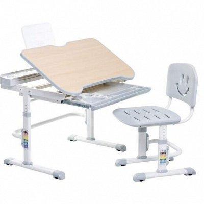 Скоро в школу! Парты-трансформеры, ортопедические кресла🧐 — Комплекты стол + стул Fundesk / Cubby