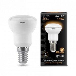 Лампа Gauss LED Reflector R39 E14 4W 2700K