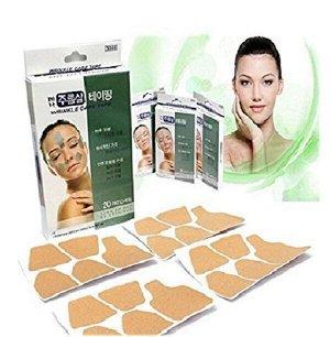 Патчи от морщин и расслабления мышц лица,Tera Wrinkle care tape 20 шт