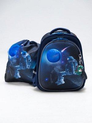 Школьный ранец NUK21-B9001-02 синий мальчики