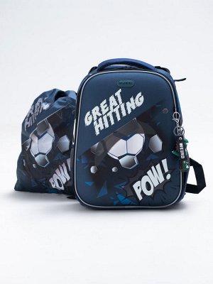 Школьный ранец NUK21-B6001-02 синий мальчики