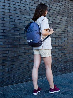 Сумка-рюкзак №63 Серый