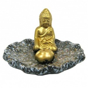 Подставка для благовоний Будда 11x8см керамика