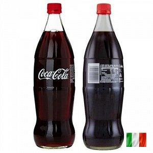 Coca-Cola 1 Liter Glass Italien - Итальянская Кола в стекле. 1 ЛИТР