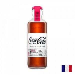 Coca-Cola Signature Mixers Spicy Notes 200ml - Французская Кола со вкусом жасмина и халапеньо