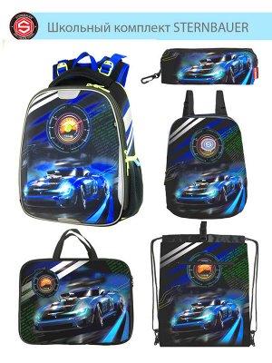 211101 Комплект школьный(Ранец + рюкзак + пенал + папка + мешок для обуви)