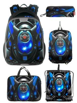 210501 Комплект школьный(Ранец + рюкзак + пенал + папка + мешок для обуви)