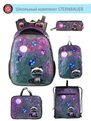 210901 Комплект школьный(Ранец + рюкзак + пенал + папка + мешок для обуви)